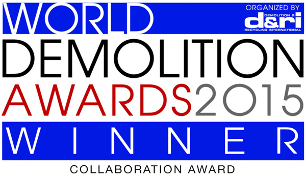 demolition awards winner 2015 for collaboration in demolition